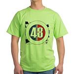 48 Cars Logo Green T-Shirt