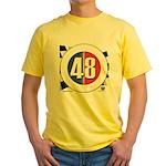 48 Cars Logo Yellow T-Shirt