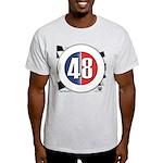 48 Cars Logo Light T-Shirt