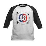 48 Cars Logo Kids Baseball Jersey