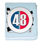 48 Cars Logo baby blanket