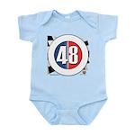 48 Cars Logo Infant Bodysuit