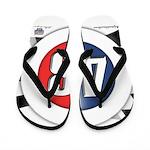 48 Cars Logo Flip Flops