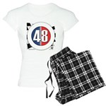 48 Cars Logo Women's Light Pajamas