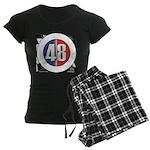 48 Cars Logo Women's Dark Pajamas