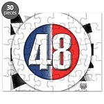 48 Cars Logo Puzzle