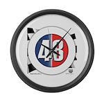 48 Cars Logo Large Wall Clock