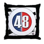 48 Cars Logo Throw Pillow