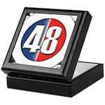 48 Cars Logo Keepsake Box