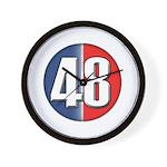 48 Cars Logo Wall Clock
