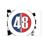 48 Cars Logo Postcards (Package of 8)