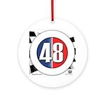 48 Cars Logo Ornament (Round)