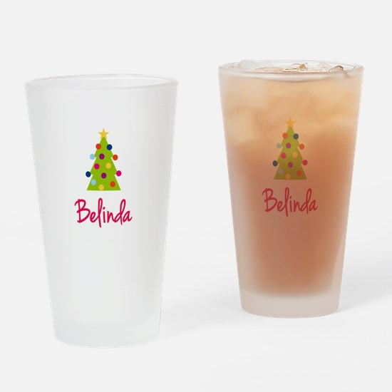 Christmas Tree Belinda Drinking Glass
