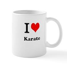 """I """"Heart"""" Karate Coffee Mug"""