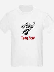 """Tang Soo!"" White TSD Children's Tee"