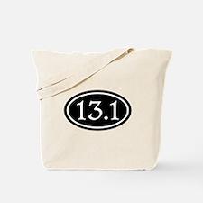13.1 Half Marathon Oval Tote Bag