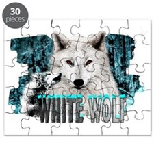 white wolf Puzzle