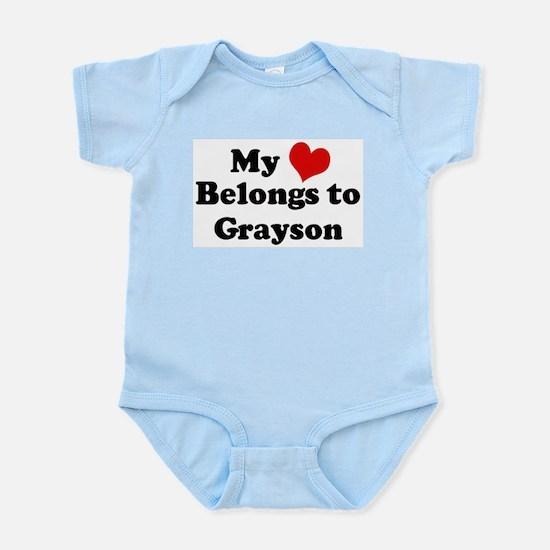 My Heart: Grayson Infant Creeper