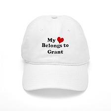 My Heart: Grant Baseball Cap