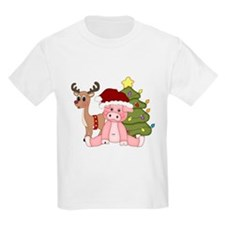 Christmas Pig T-Shirt