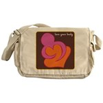 Love Your Body Messenger Bag