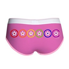 Rainbow Stars Women's Boy Brief