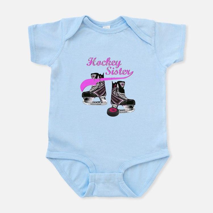 Hockey Sister Infant Bodysuit