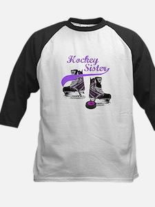 Hockey Sister Kids Baseball Jersey