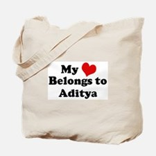 My Heart: Aditya Tote Bag
