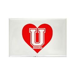 Love U Rectangle Magnet (10 pack)