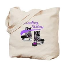 Hockey Sister Tote Bag