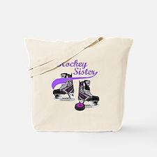 Hockey Sister Tote Bag