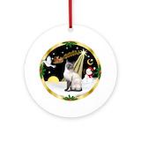 Siamese cats Ornaments