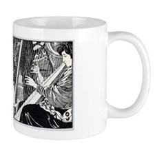 Art Nouveau Musicians Small Mug