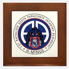 1st / 505th PIR Framed Tile
