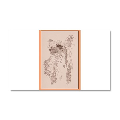 Chinese Crested Car Magnet 20 x 12