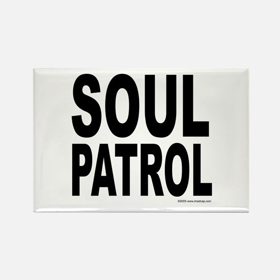 Soul Patrol Rectangle Magnet