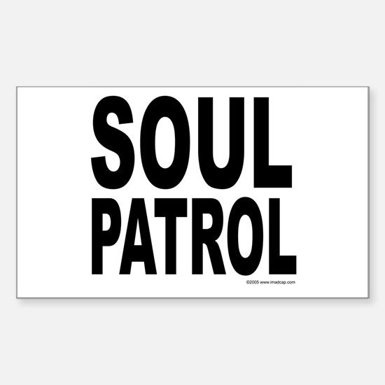 Soul Patrol Rectangle Decal