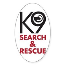 K9 Bold General S&R Bumper Stickers