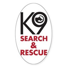 K9 Bold General S&R Decal