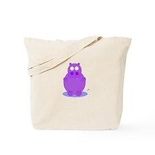 Cute Vintage hippo Tote Bag