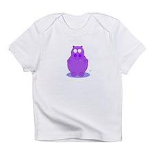 Cute Vintage hippo Infant T-Shirt
