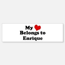 My Heart: Enrique Bumper Bumper Stickers