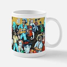 FOLK ART BLUES Mug