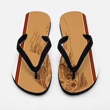 Rhodesian Ridgeback Flip Flops