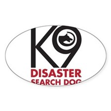 Disaster Dog Bold Decal