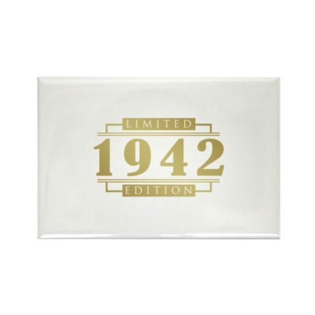 1942 Limited Edition Rectangle Magnet