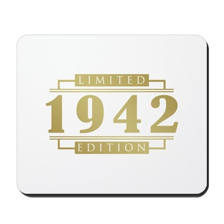 1942 Limited Edition Mousepad