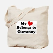 My Heart: Giovanny Tote Bag