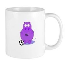 soccer hippo Mug